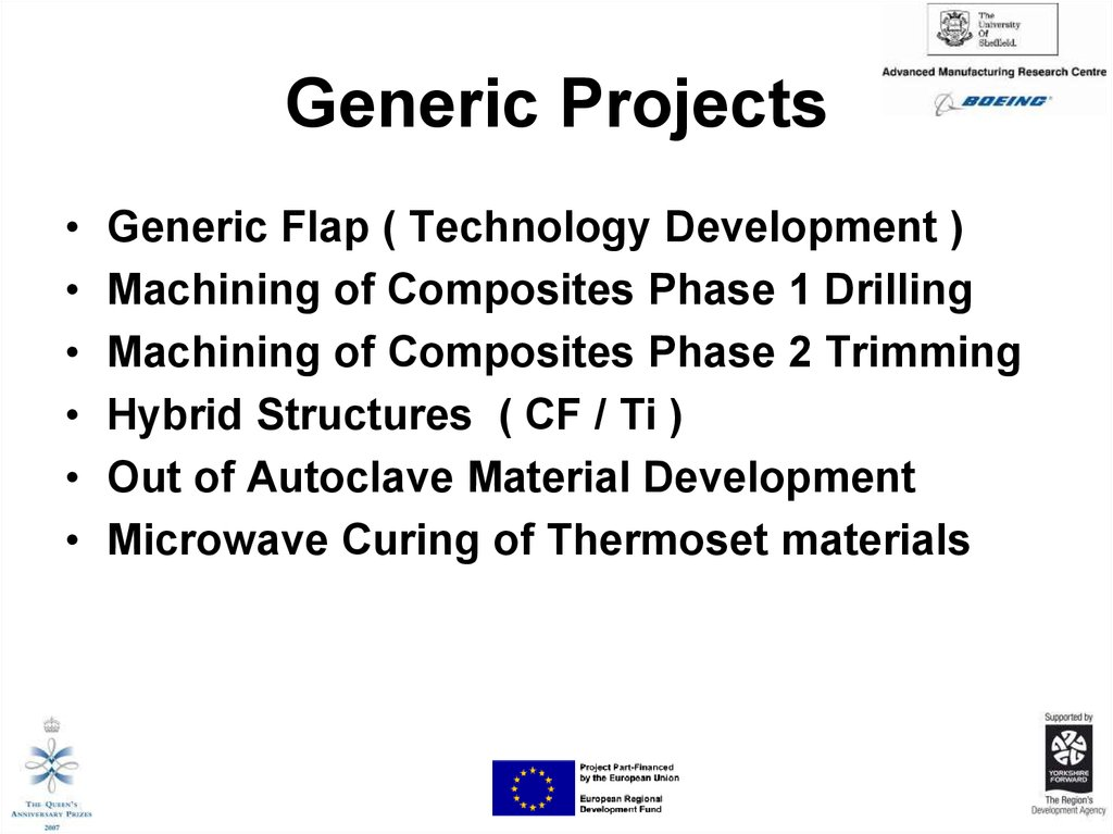 Generic Projects