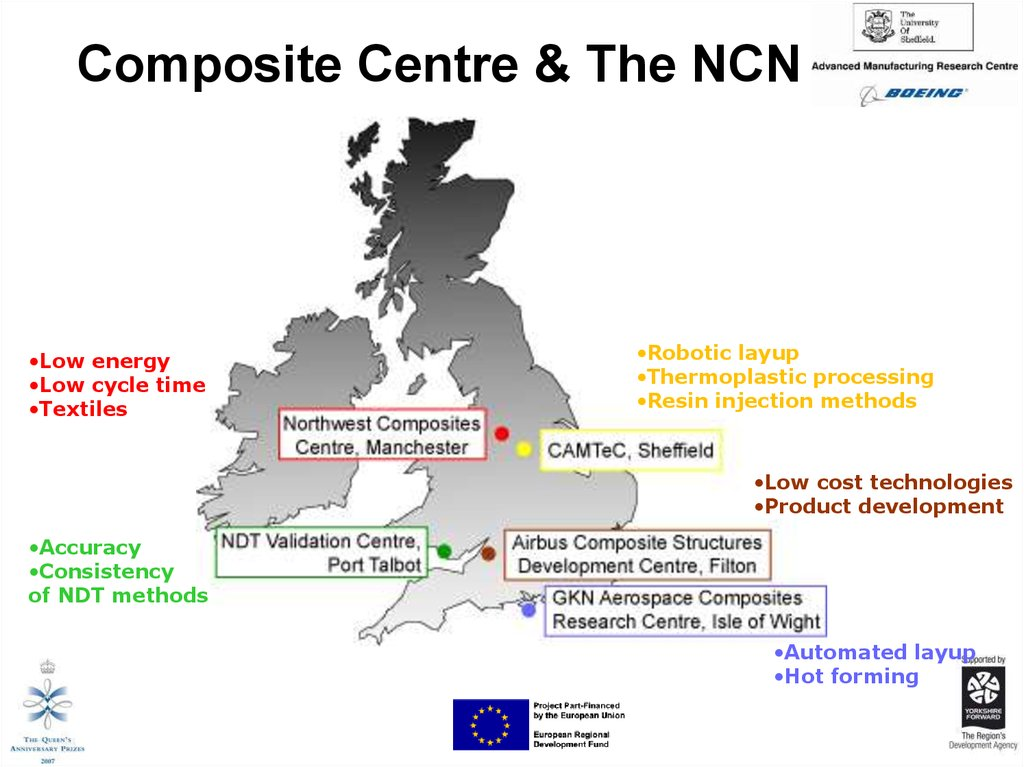 Composite Centre & The NCN