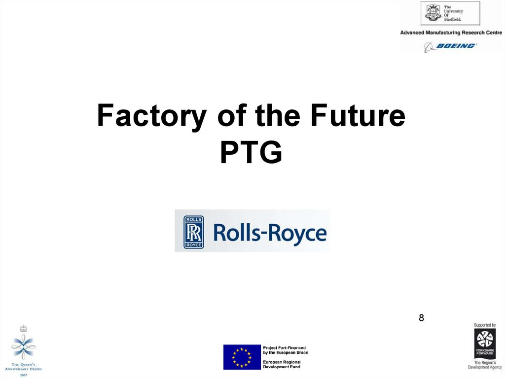 Factory of the Future PTG