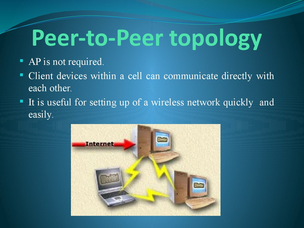 Peer-to-Peer topology