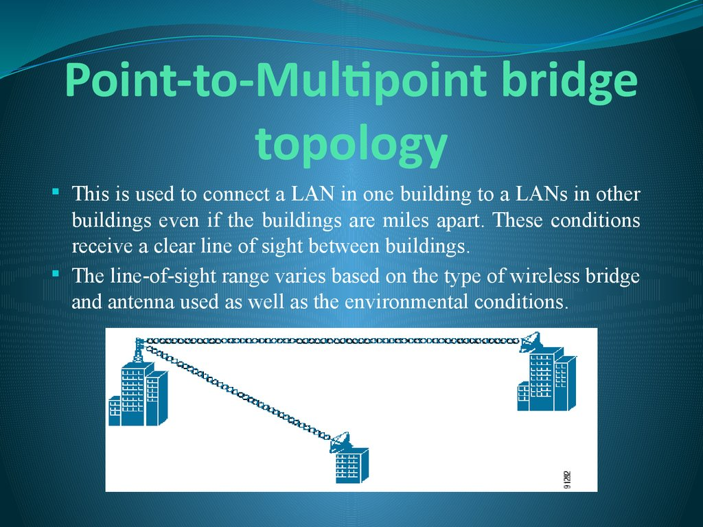 Point-to-Multipoint bridge topology