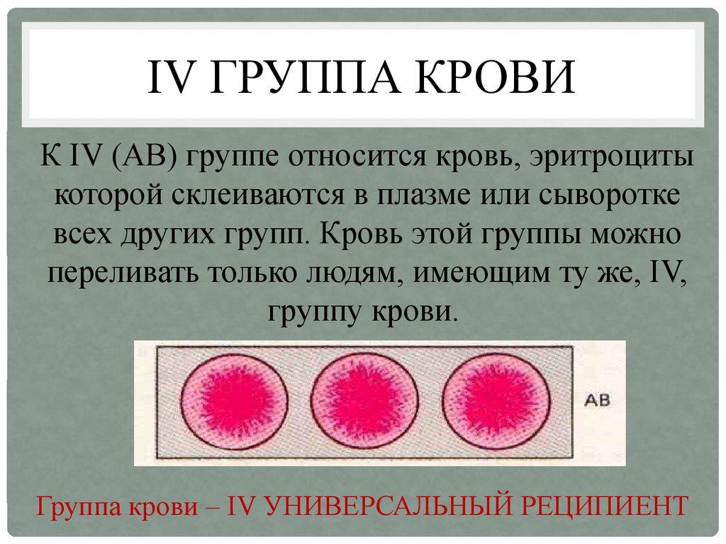 Группа крови остается неизменной в течение всей жизни человека.