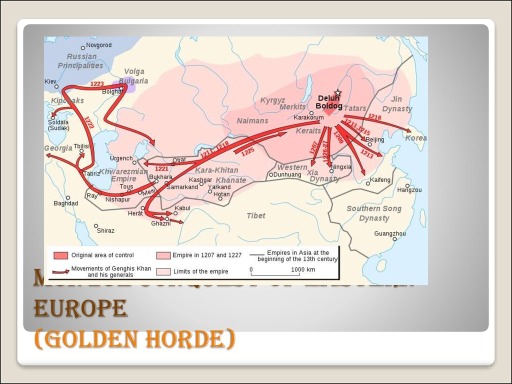 Mongol conquest of Eastern Europe (Golden Horde)
