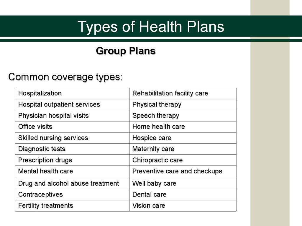 Health insurance. The basics - online presentation