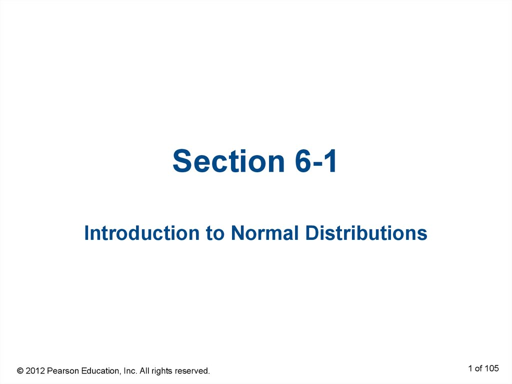 Section 6-1