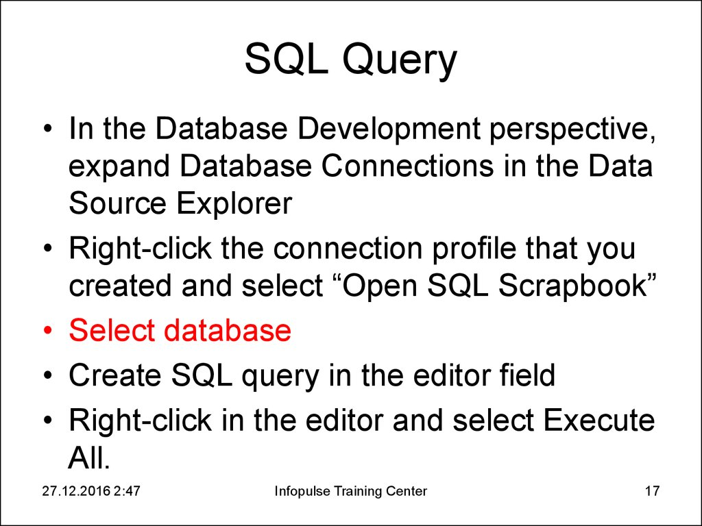 SQL Query