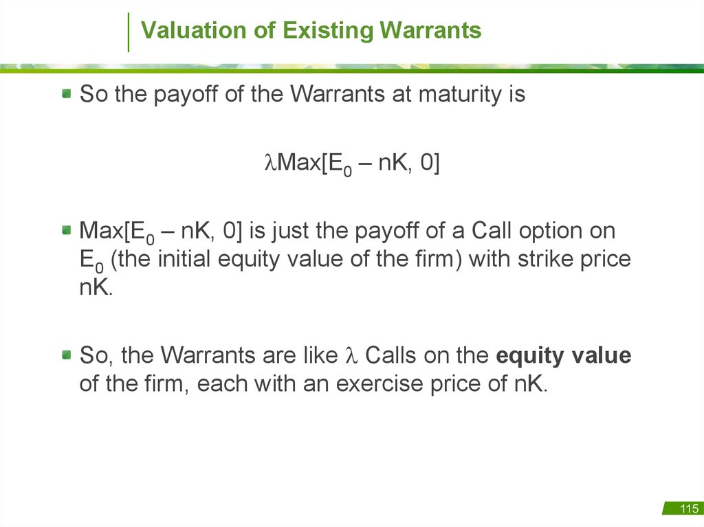 equity valuation questions 'what if equity value has nothing to do with current or future profits.