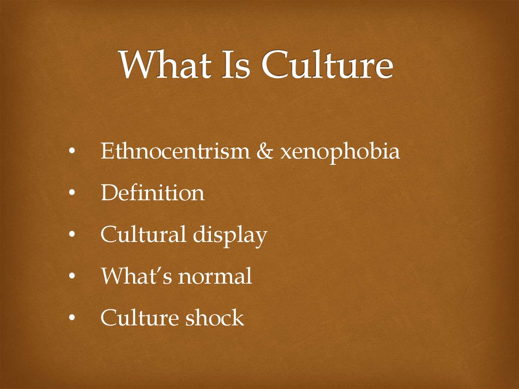 A description of the reasons of adapting to a new culture or environment