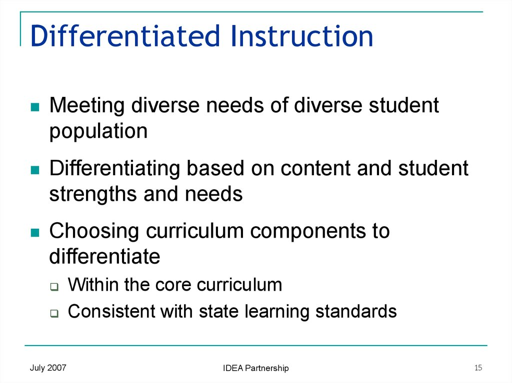 Dissertations On Differentiated Instruction Coursework Academic