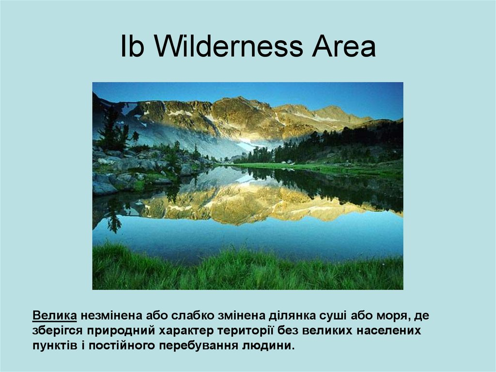 Ib Wilderness Area