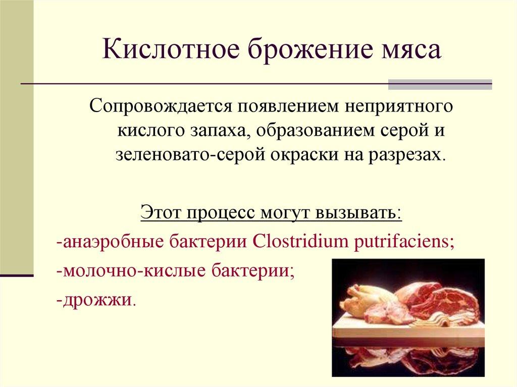 каркасный бактерии вызывающие порчу мяса знают
