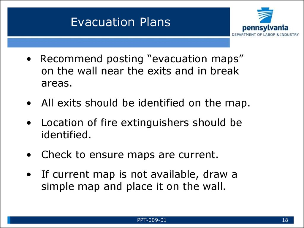 Emergency Action Plans презентация онлайн