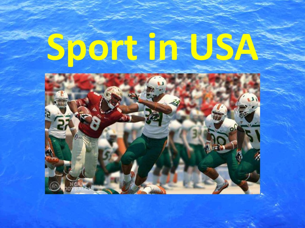 Sport in USA