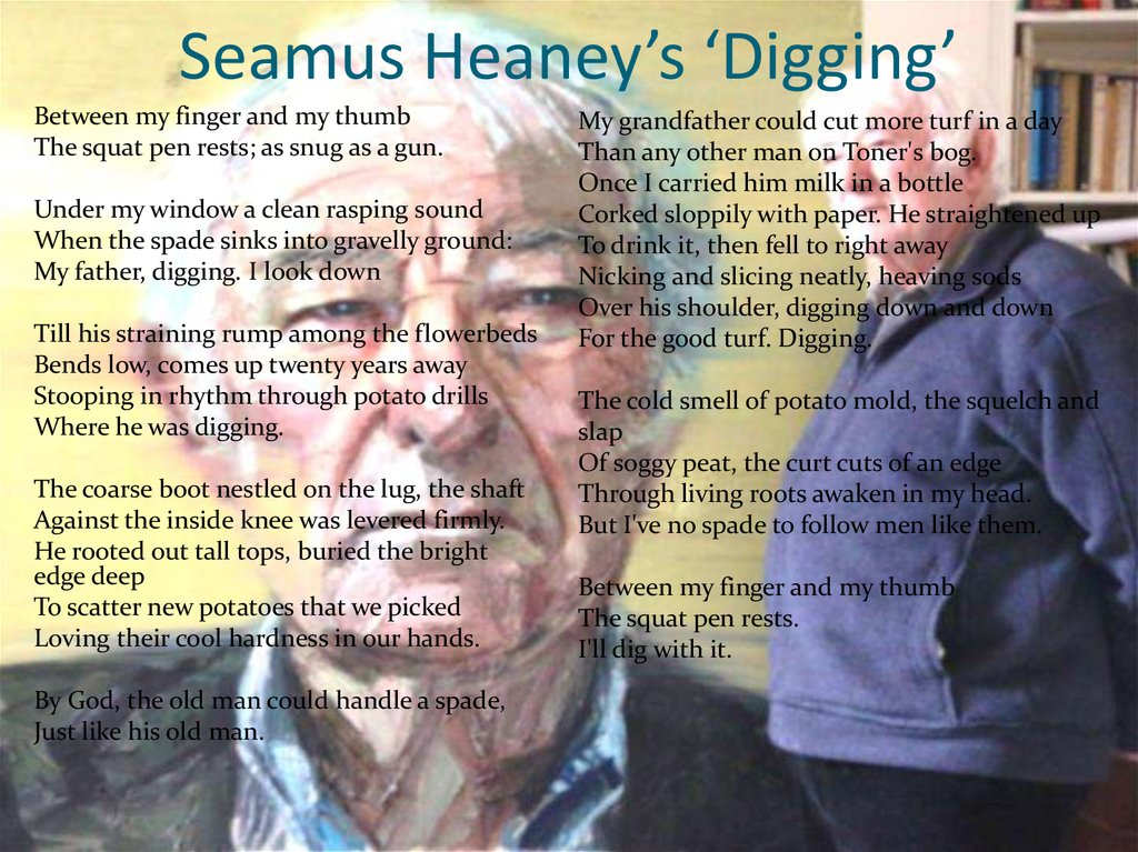 Seamus Heaney's 'Digging'