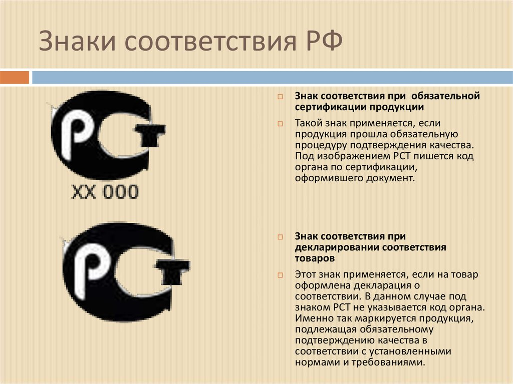 Знаки соответствия картинка