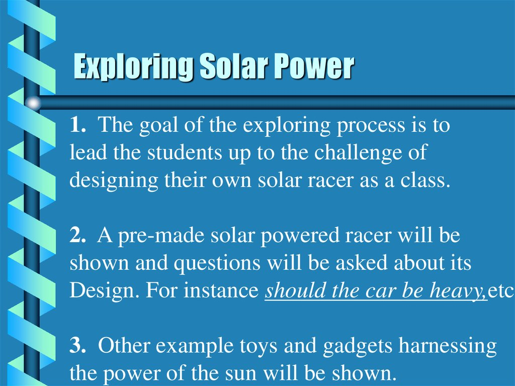 Exploring Solar Power