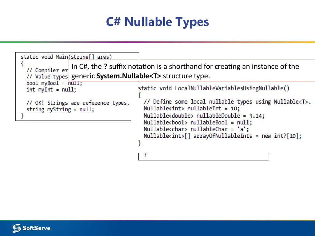 C# Nullable Types