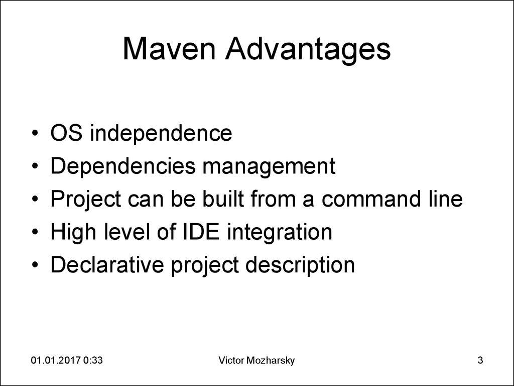 2  Java Spring Core 2  Maven - online presentation