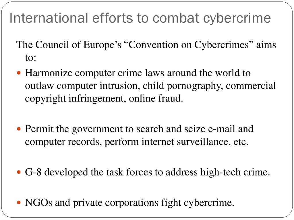 cybercrime and its impact on This is just the very beginning of this cybercrime era, according to marc goodman, author of future crimes: everything is connected, everyone is vulnerable, and what we can do about it, who.