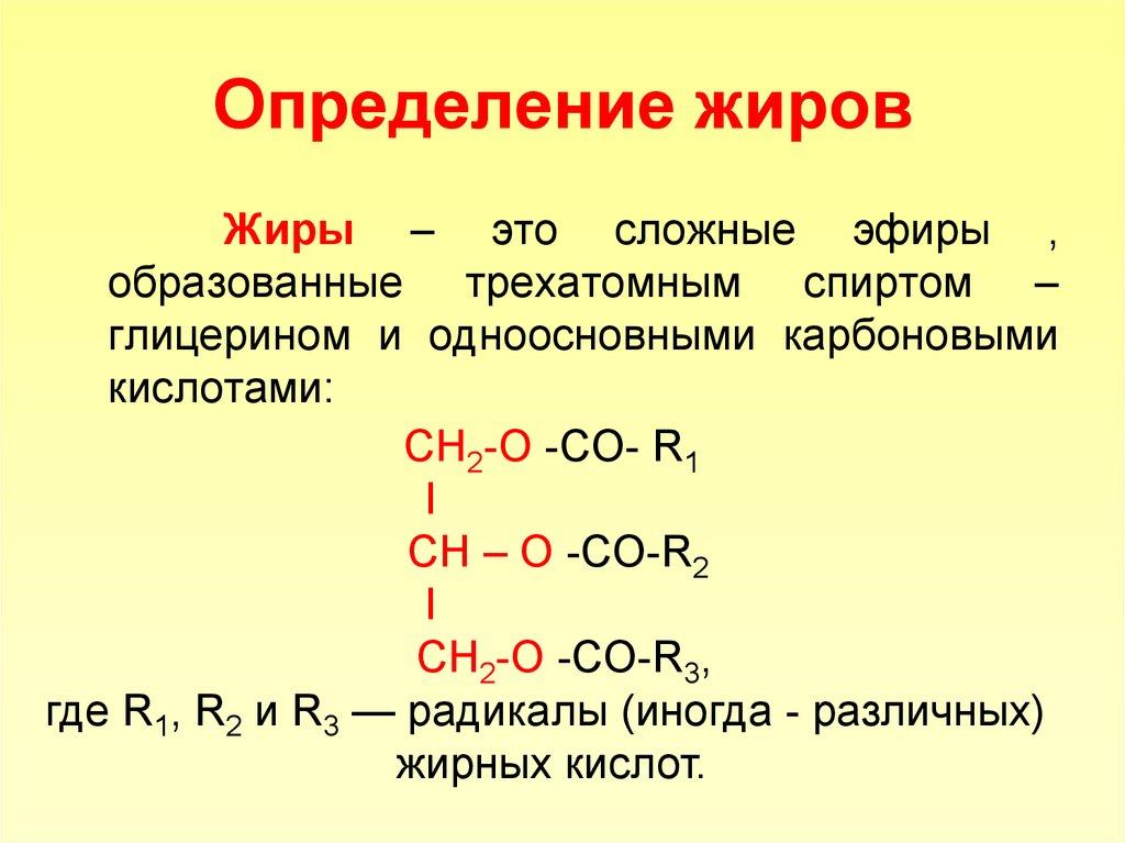 Картинки по химии жиров