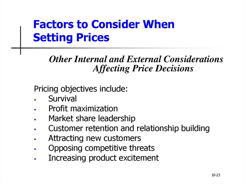 factors to consider when deciding on Factors to consider for international marketing international marketing is very different from domestic marketing there are a whole host of issues when marketing internationally that a business does not normally have to deal with when marketing in their own country.