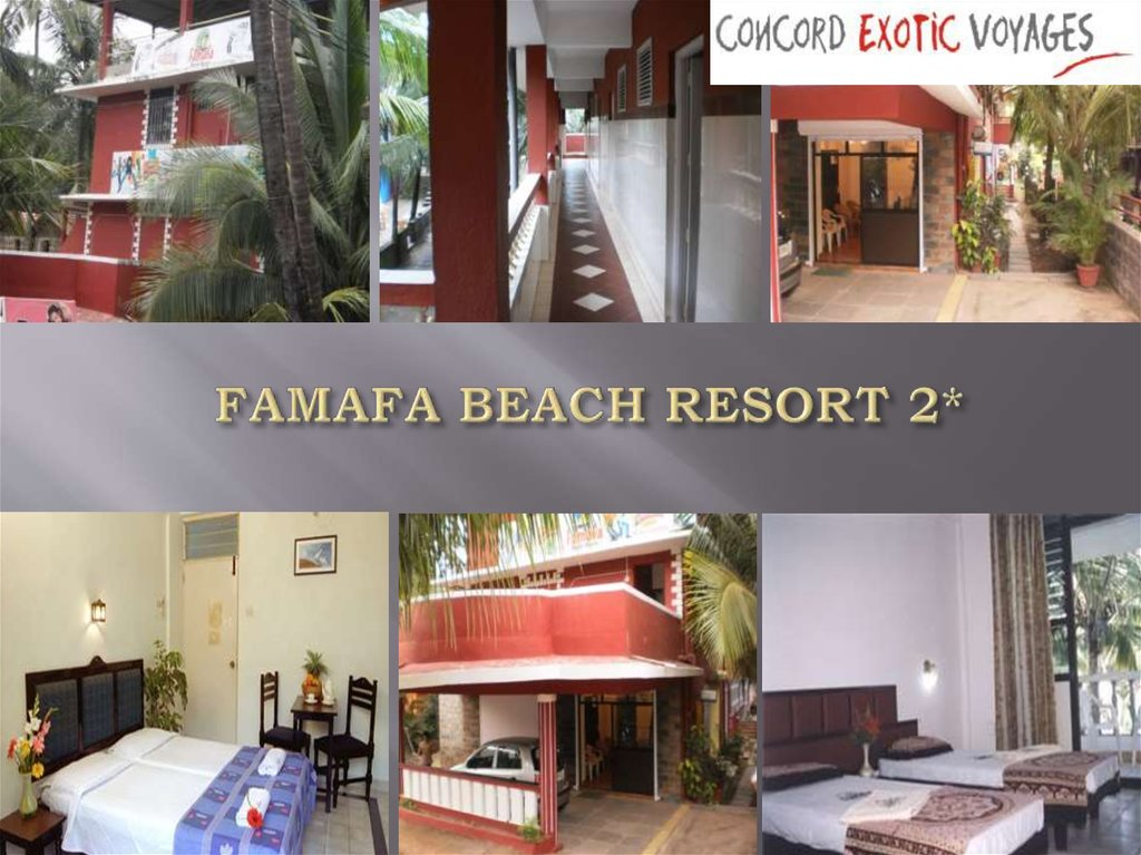 FAMAFA BEACH RESORT 2*