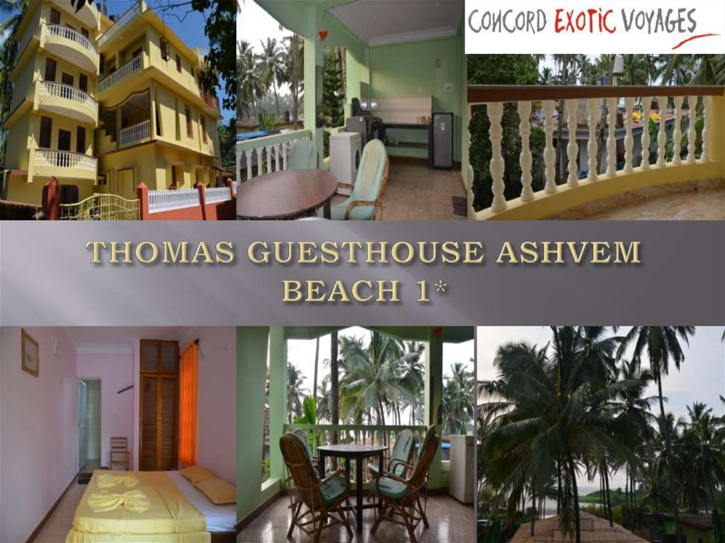 THOMAS GUESTHOUSE ASHVEM BEACH 1*