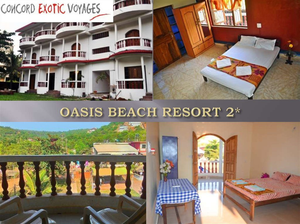 OASIS BEACH RESORT 2*