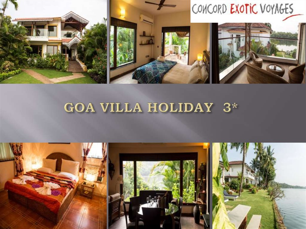 GOA VILLA HOLIDAY 3*