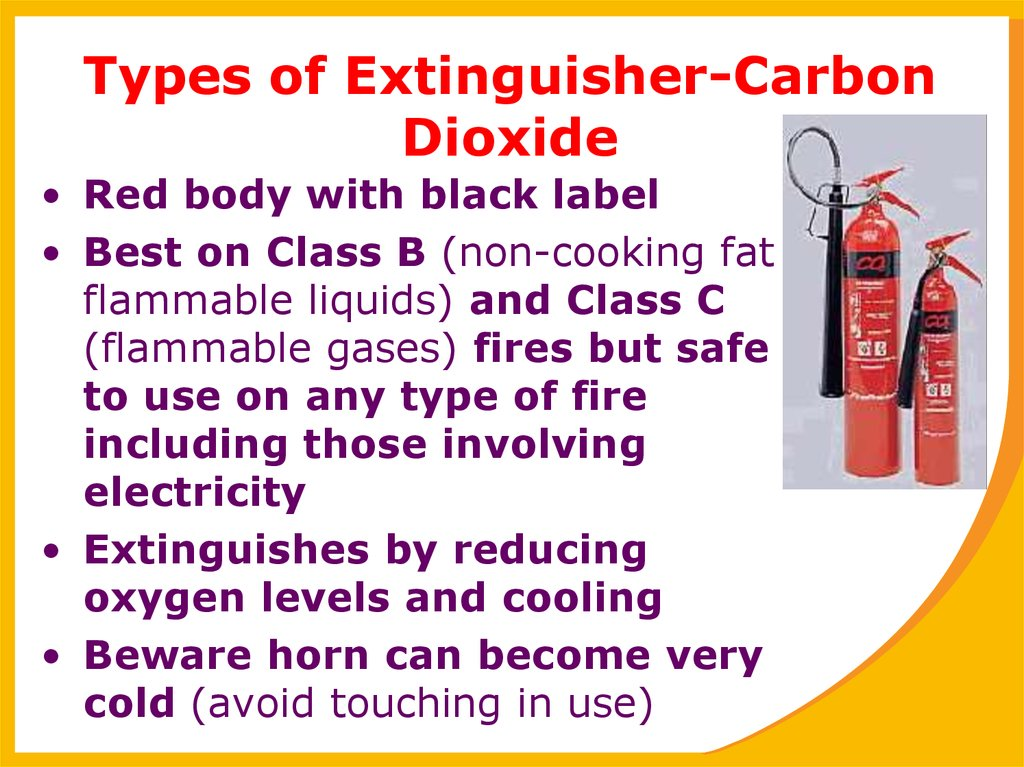 Types of Extinguisher-Carbon Dioxide
