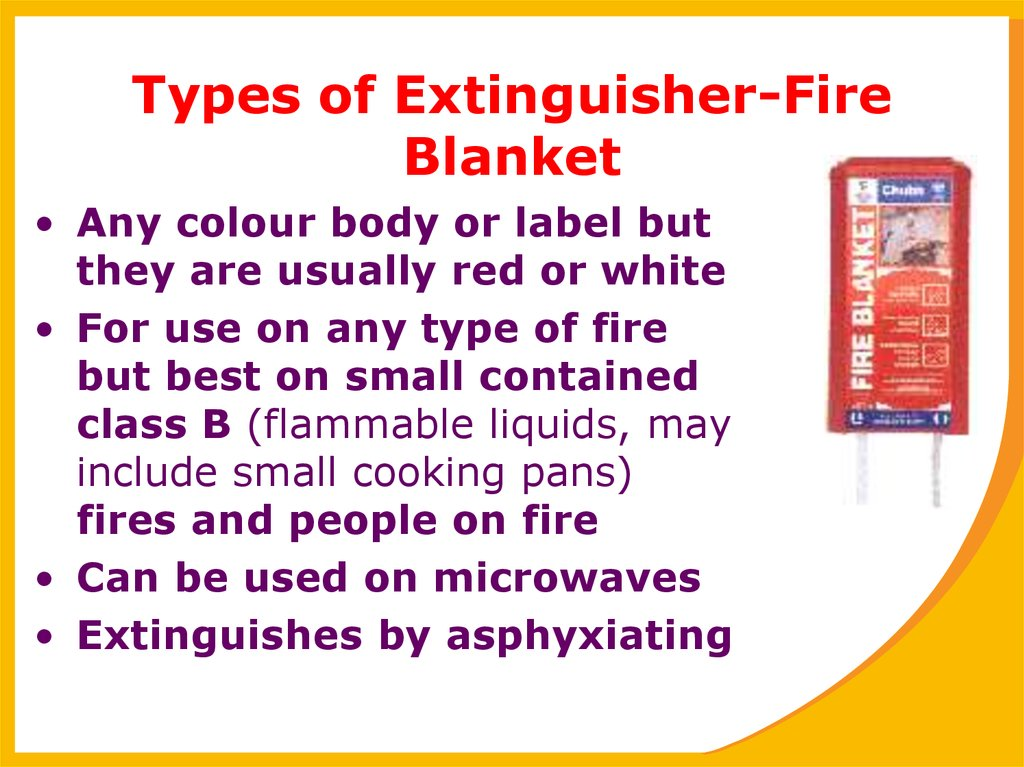 Types of Extinguisher-Fire Blanket