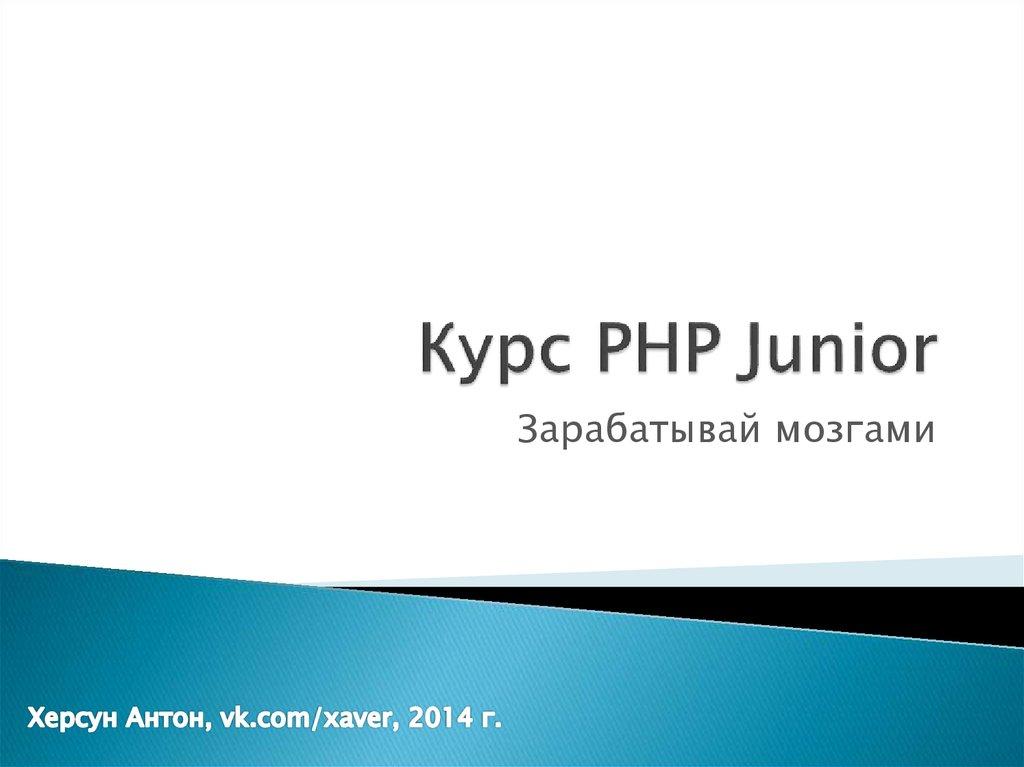 Junior php фриланс работа ростов на дону удаленная