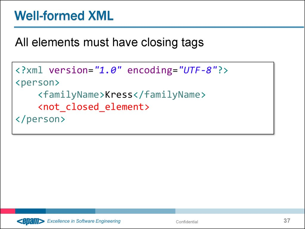 Lecture1 - SOA, XML, XSD - online presentation