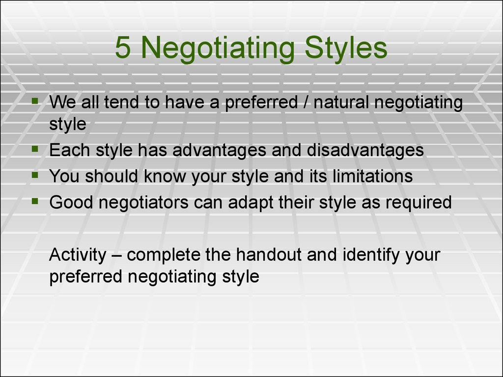 negotiation skills in business communication pdf