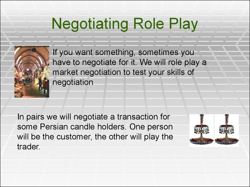 Business Communications Lecture 21 And 22 Negotiation