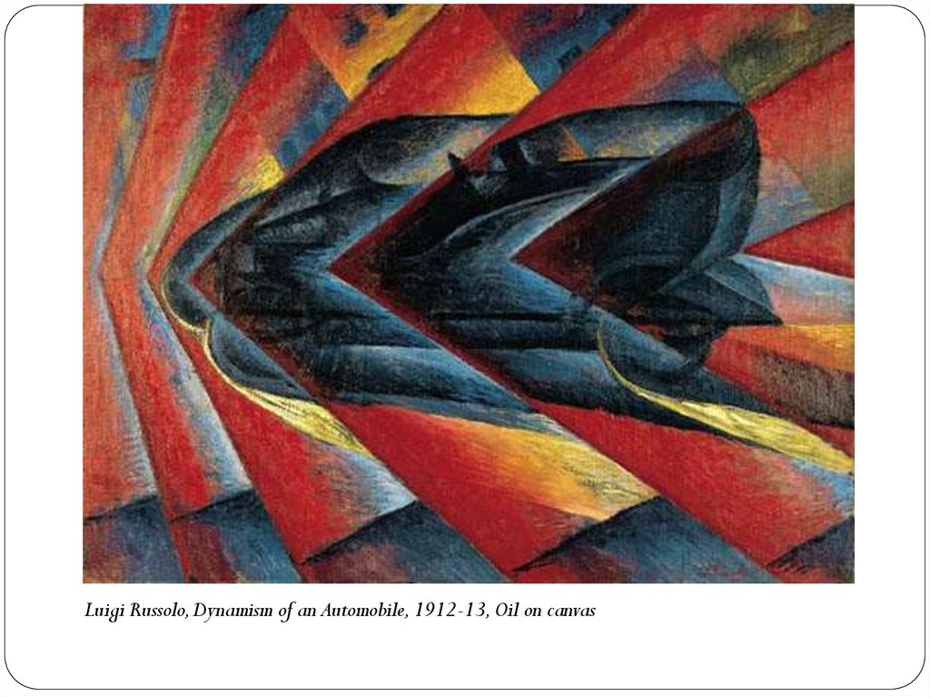 Speed Of A Motorcycle Giacomo Balla