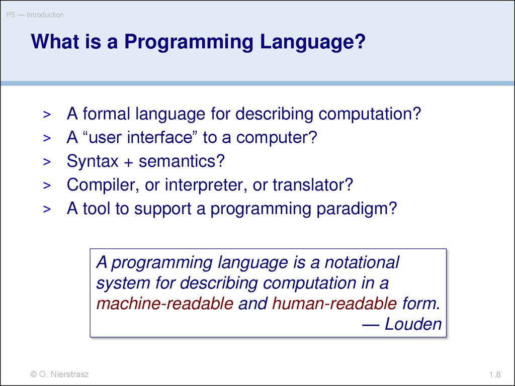 programming language and introductory programming C is the main programming language used in apple ios apps and os development as objective c objective c is the object oriented version of c programming c language is widely used for the development of compilers, assemblers, language interpreters, device drivers, databases, embedded systems, server, game frameworks etc.