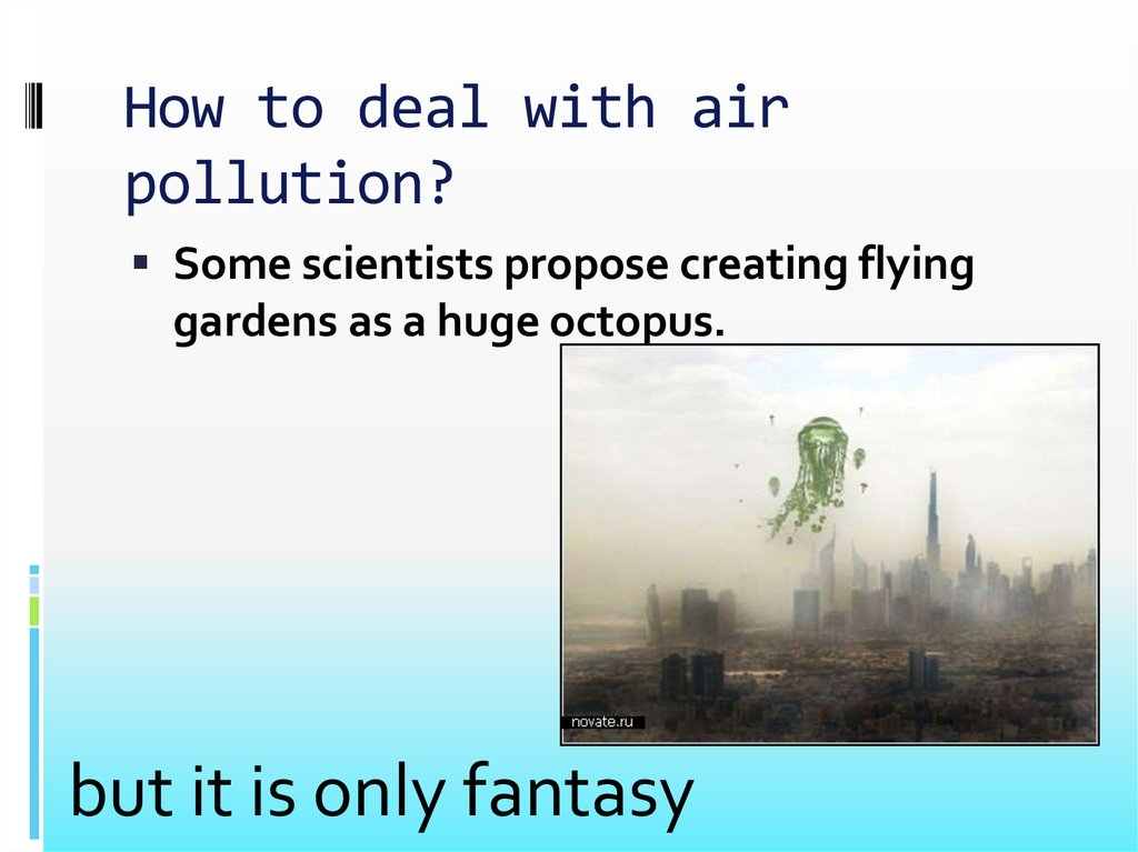 How to deal with air pollution?