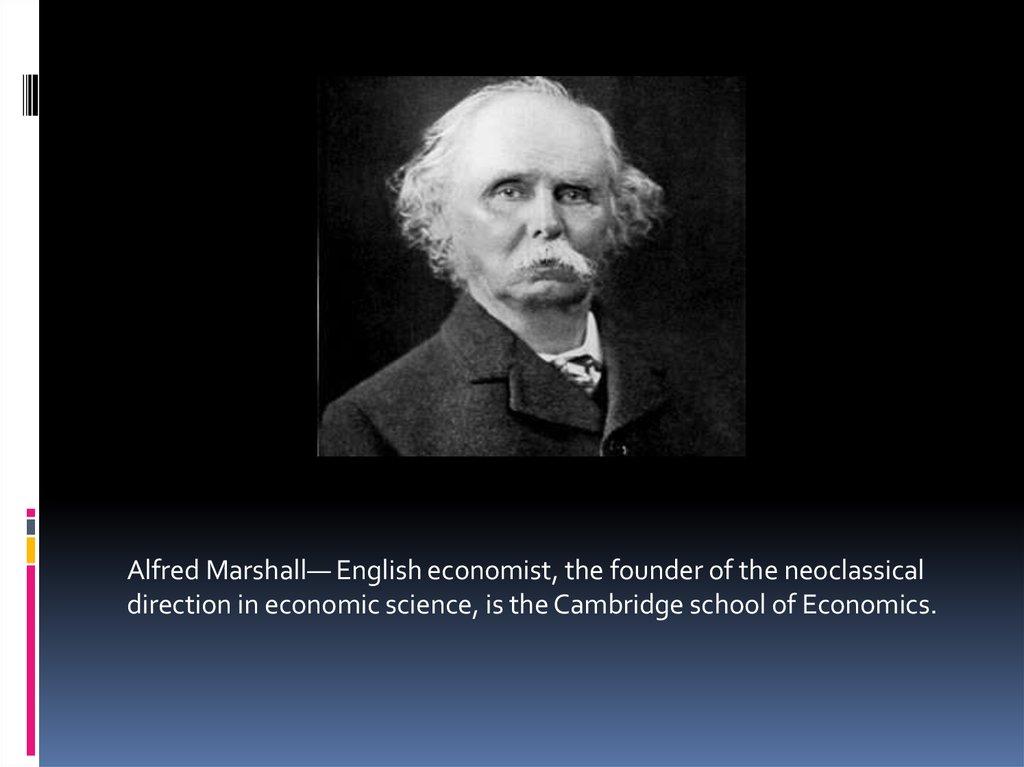 Alfred marshall vs smith