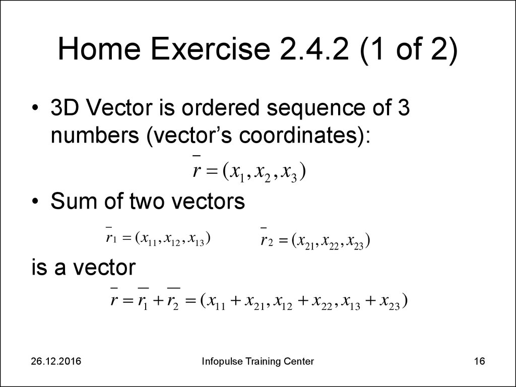 Home Exercise 2.4.2 (1 of 2)