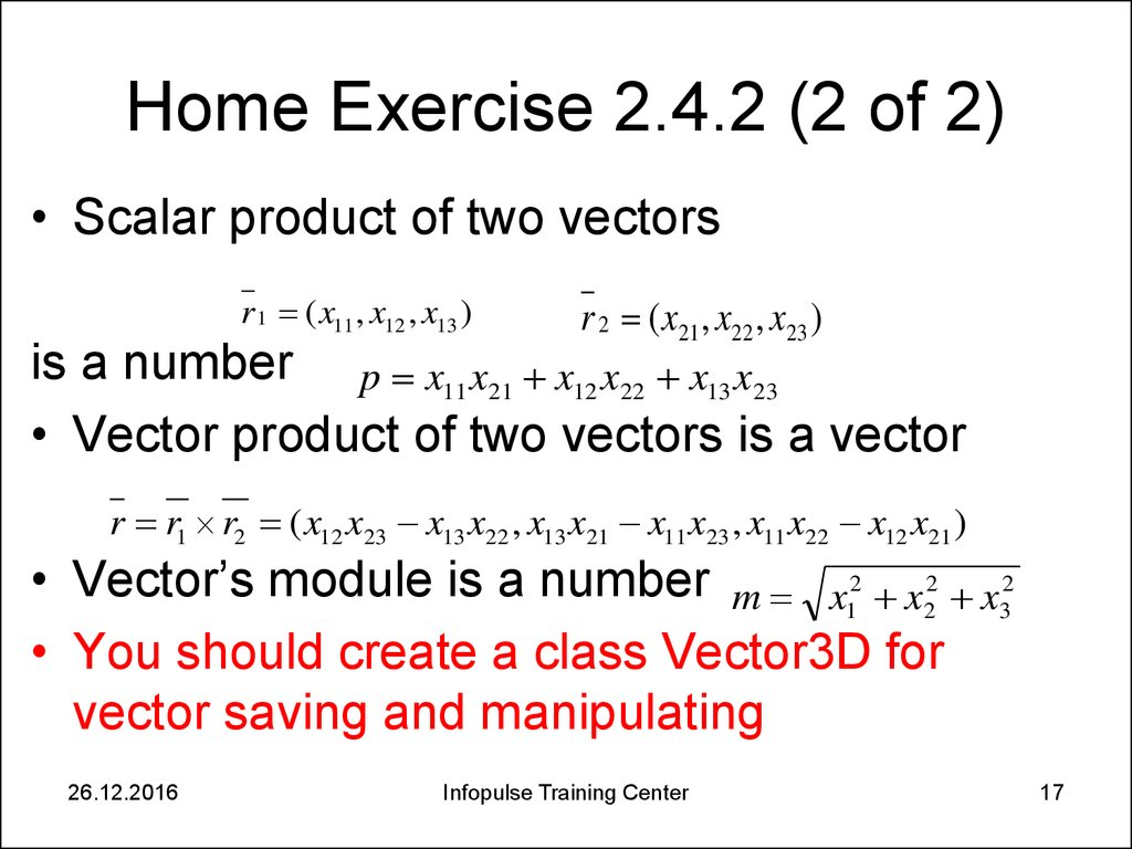 Home Exercise 2.4.2 (2 of 2)