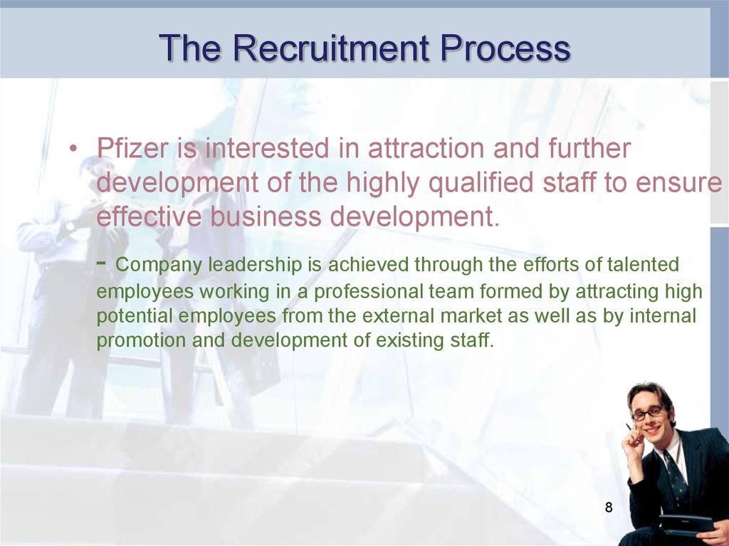 Pfizer development and training