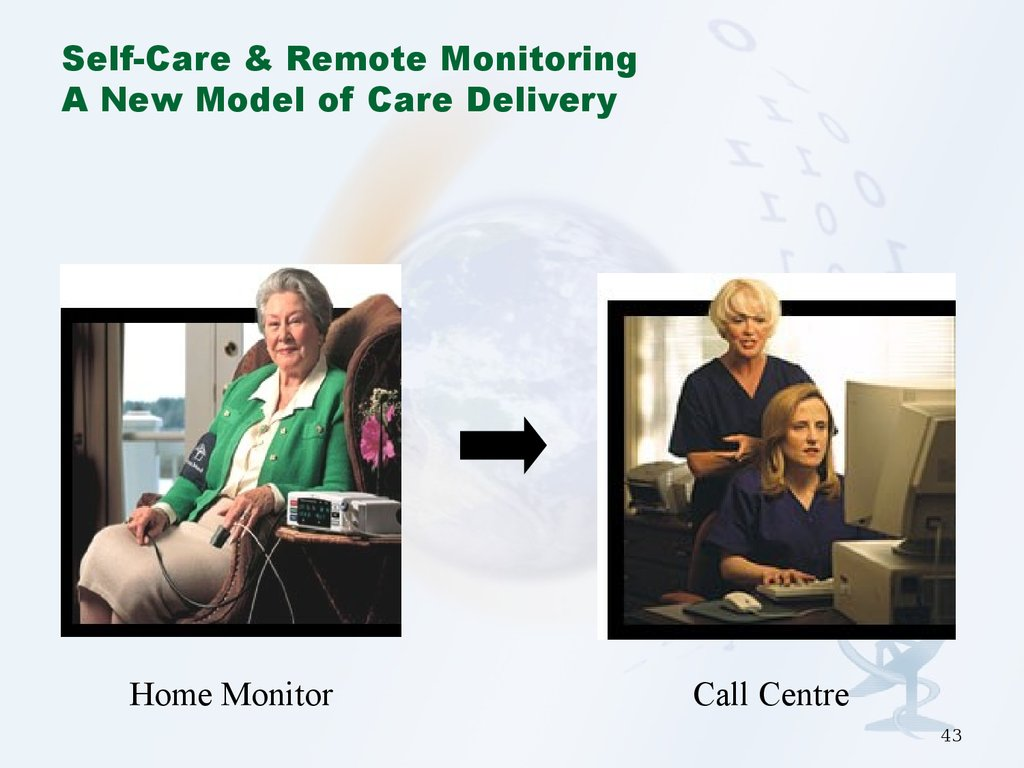 Self-Care & Remote Monitoring A New Model of Care Delivery