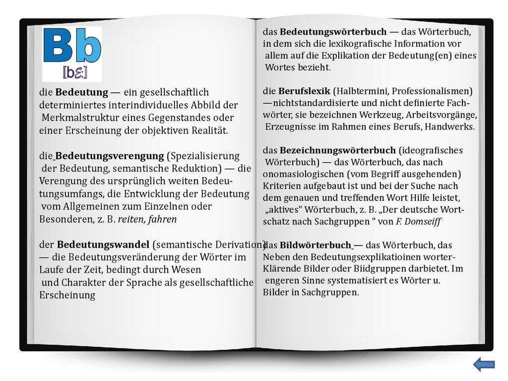 Das neue deutsche-deutsche Wörterbuch - online presentation