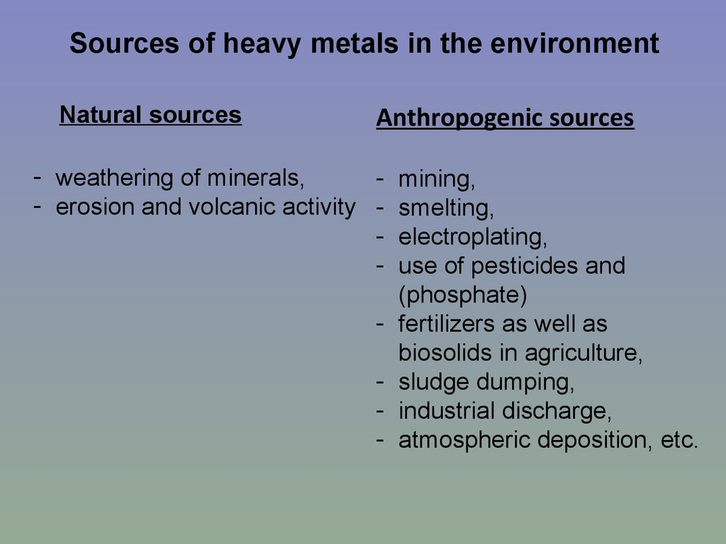 Phytoremediation of heavy metals-concepts and applications