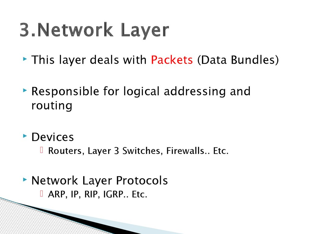 3.Network Layer