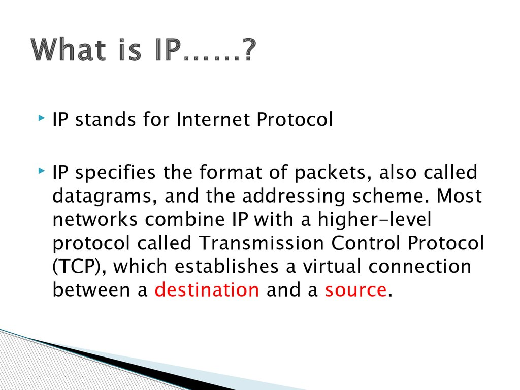 What is IP……?