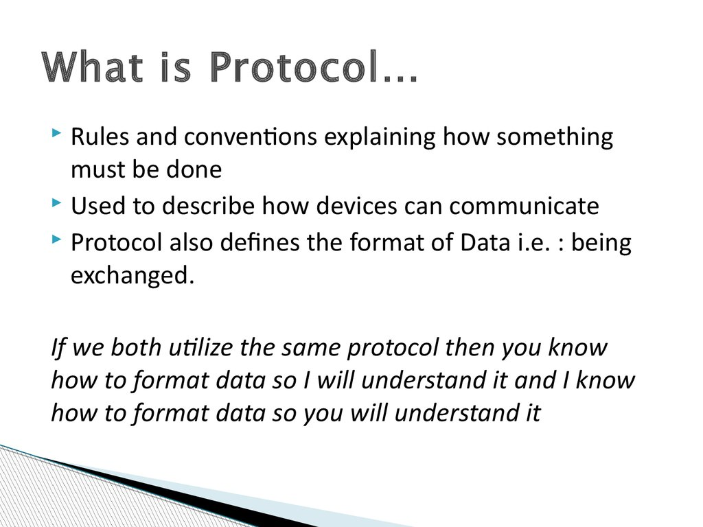 What is Protocol…