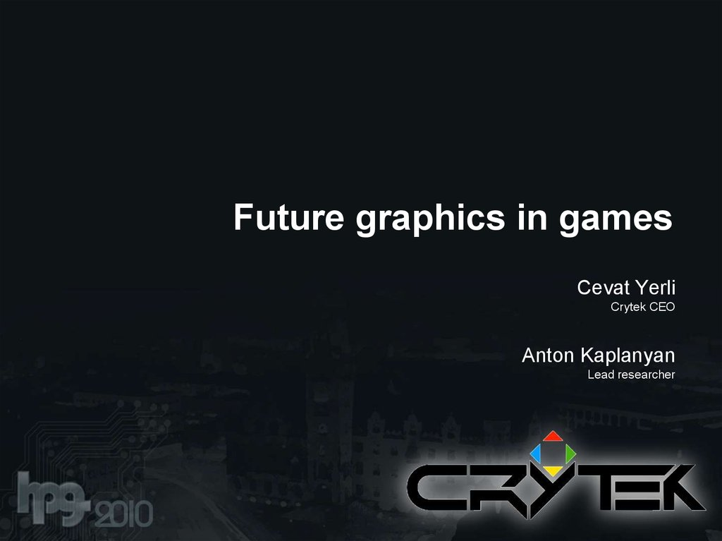 Future graphics in games