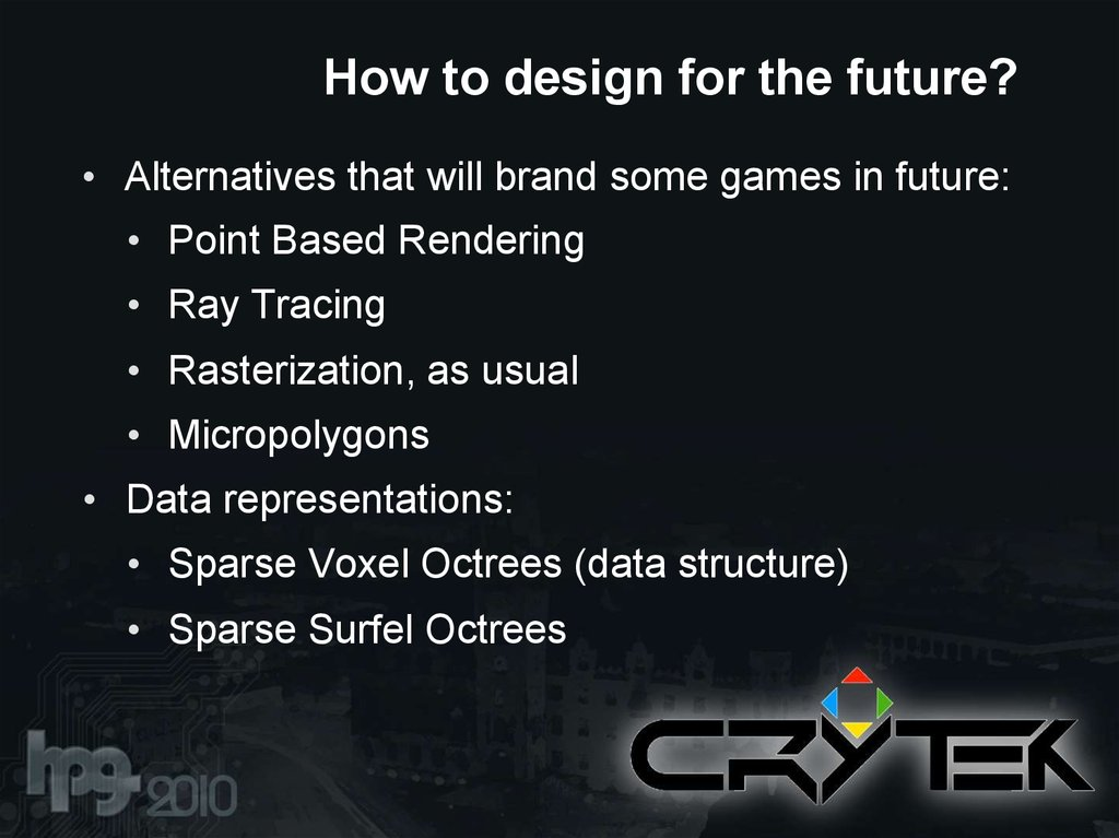 How to design for the future?